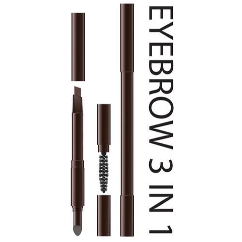 3 in 1 Eyebrow Pencil